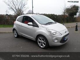 FORD KA TITANIUM Excellent condition, F.S.H Low Miles, Silver, Manual, Petrol, 2