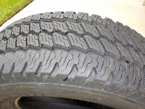 4 - Bridgestone Duravis tires LT265/70R/17 M700 (M+S) E rated