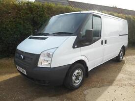 2013 13 FORD TRANSIT 2.2TDCI 100BHP MWB 6 SPEED LOW ROOF EURO5 1 OWNER NO VAT