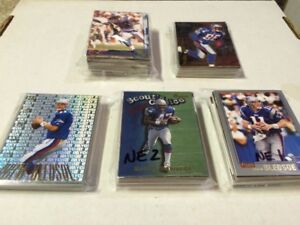 New England Patriots football cards