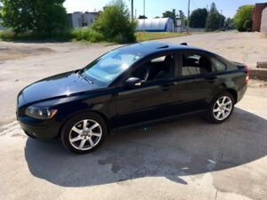 2005 Volvo S40 T5 AWD with rare 6 speed manual.