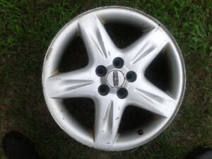 4 Mags Lincoln Continental 17 x 7.5.......5 x 108