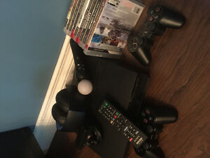 PS3  Consol Bundle with all the fixings