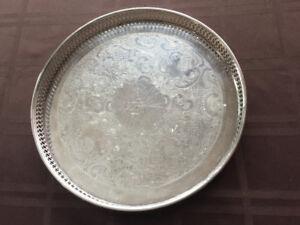 Marlboro Silver Plated Tray