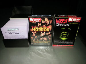 Horror movies over 200 classics on DVD