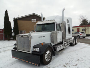 2004 WESTERN STAR LOWMAX CAT C15 550 REBUILT COMPLETE NEW PAINT