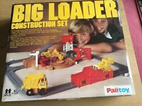 Vintage Tomy Big Loader Construction Set with working motor. 1977. Excellent condition. Full set.