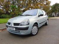 LOVELY 2002 RENAULT CLIO 1.2 16V EXPRESSIONN IDEAL FIRST TIME CAR SUPERB VALUE