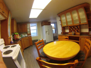 FULLY FURNISHED 3-bedroom KITCHEN APARTMENT in RYCROFT ALBERTA