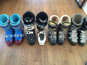Various Mens Ski Boots Excellent Condition!
