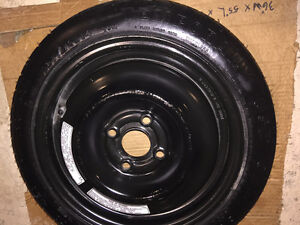NEW Temporary Spare tire with Rim  T125/70 D14
