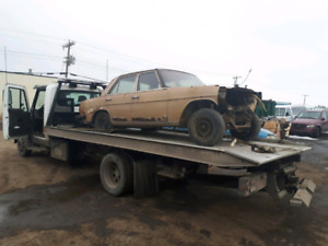 Cash for junk cars and towing Edmonton.