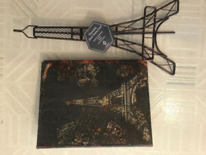 Photo album and picture stand, Paris Eiffel tower