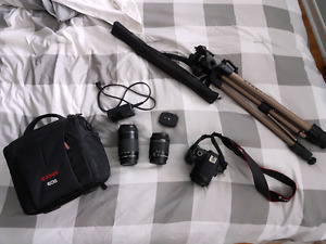 Canon Rebel T5i DSLR Camera Kit