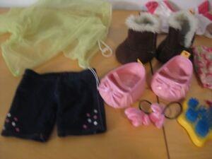 Build a bear authentique - 10 kits de vêtements et accessoires