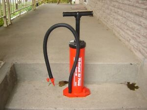 BIKE TIRE PUMP WITH ATTACHMENTS(BALL PUMP)