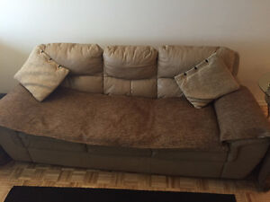 Leather couch to give away