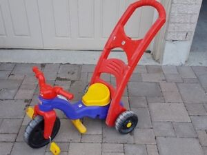 Fisher-Price Rock and Roll Tricycle (3-in-1)