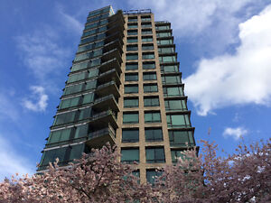 Furnished one bedroom and den in Milano, West End, Vancouver