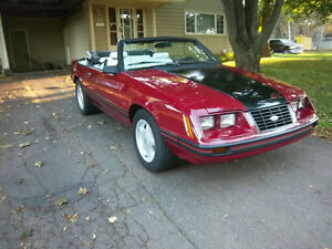 1983 Mustang Convertible Excellent Condition