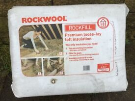 Rockwool Premium loose lay insulation