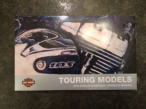 2014 Harley Touring Owners Manual
