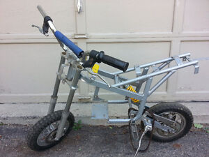 Pocket bike rolling chassis