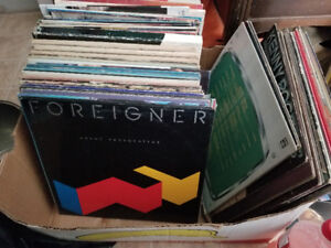RECORD COLLECTION: 60's - 80's Vintage Records