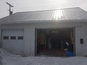 Contractor storage centrally located - 750 sq ft