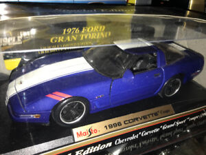 Chevrolet Corvette grand sport 1996 die cast 1/18 die cast