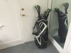 Set of almost new golf clubs for sale