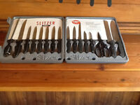 Slitzer complete Knife set.