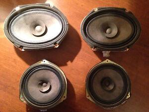 Mazda Protege OEM speakers