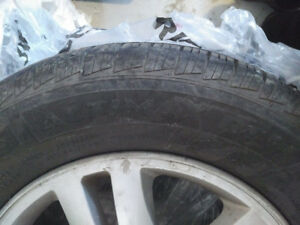 4 - 215/65R16 All-season tires **ALMOST NEW**
