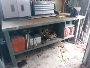 FOR SALE Steel Work Bench