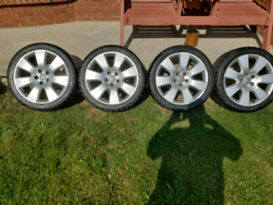 Audi Rims and Tires 18 inch