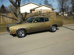 1970 Chevelle SS 396 Cowl Induction