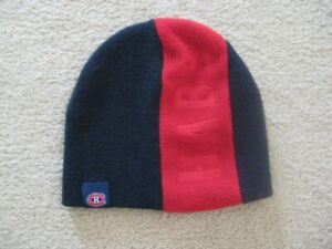 Montreal Canadiens Kids Winter Hat Or Slippers $5.00 Each Item