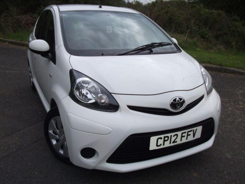 2012 12 TOYOTA AYGO 1.0 VVT-I ICE 5D 68 BHP ** 1 OWNER ,ONLY 29K ,£;0 TAX