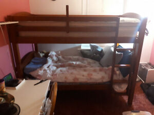 Bunk Bed 2 years old $180
