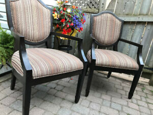 Pottery Barn Accent Chairs