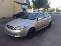 2004 CHEVROLET OPTRA  5 2.0L 1850$ TAX ET TRANSIT INCLUS