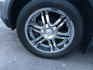 Ruffino wheels with tires 20 inch