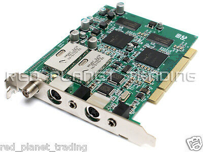Genuine Dell OEM Emuzed Angel PCI Dual TV Tuner Video Graphics Card RD729 D6463