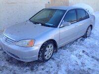 HONDA CIVIC 2003 MANUEL 1700$