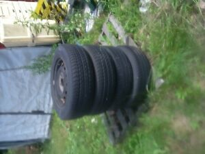 motomaster AW all season tires plus rims for Hyundi Stratford Kitchener Area image 1