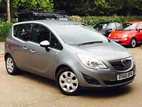 2010 Vauxhall Meriva 1.4 16v ( 100ps ) ( a/c ) Exclusiv only 52,585 miles FSH!!