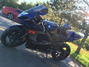 2008 GSX R 750 with 27000. Some new model mods as well.
