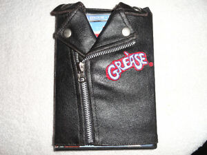"DVD ""GREASE"" with Leather Jacket"