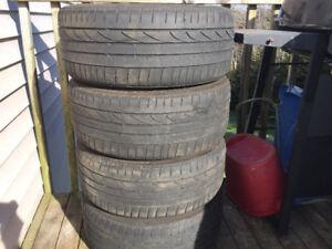 Four 205/40R17 Summer Tires Great Tread